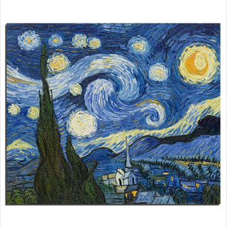 Starry Night - Unframed Canvas Print (BXY241)