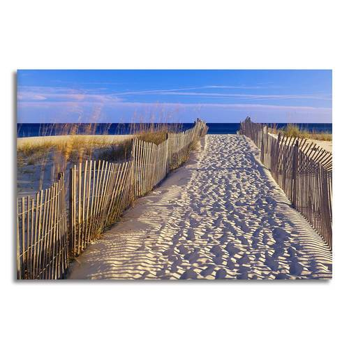 Asst Beach Paradise Boats/Jetty - Rolled Canvas Print Only (BXY230e)