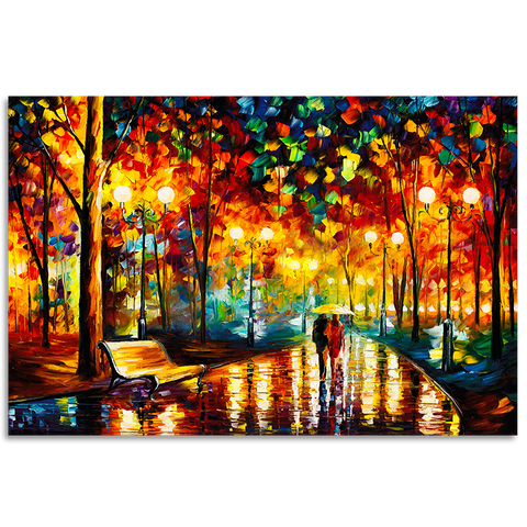 Entranced by Romance - Canvas Print Art - 80x120cm CN600