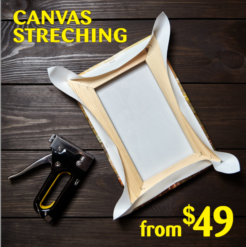 Canvas Stretching Service