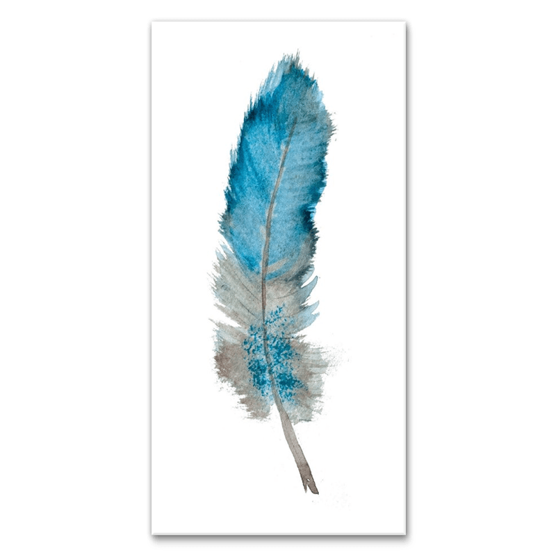 Feather of Ether 1(of4) - Canvas Print ART-CN159A-40x80