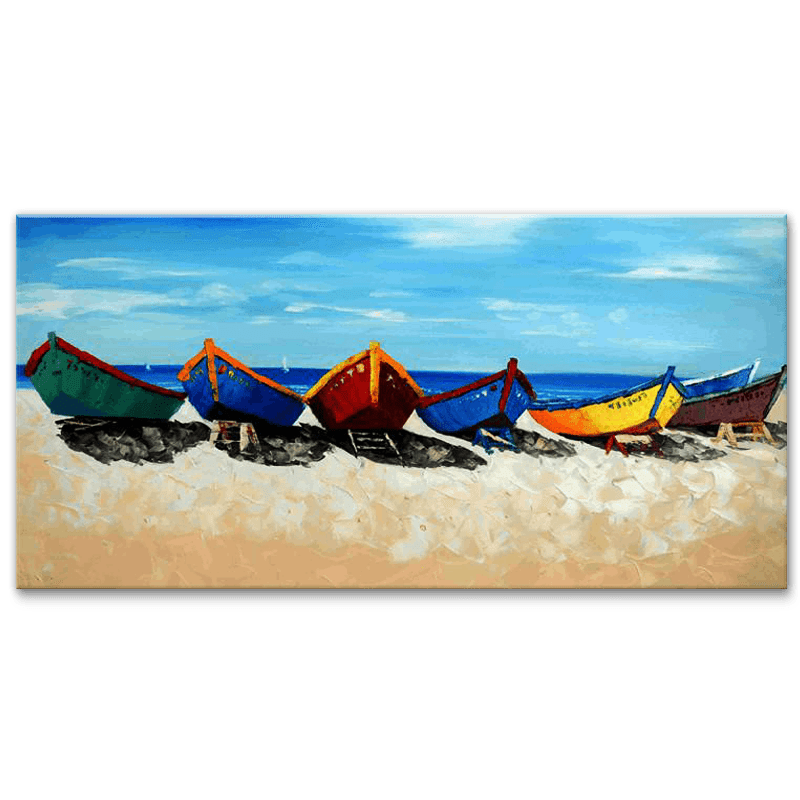 Boats by the Beach - YA514