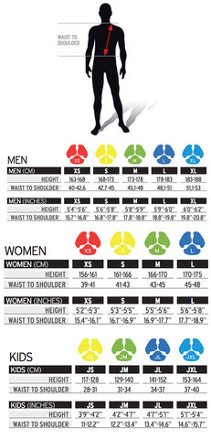 Salomon Flexcell Size Guide