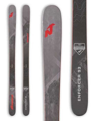 Nordica Enforcer 93 Skis 2020-aussieskier.com