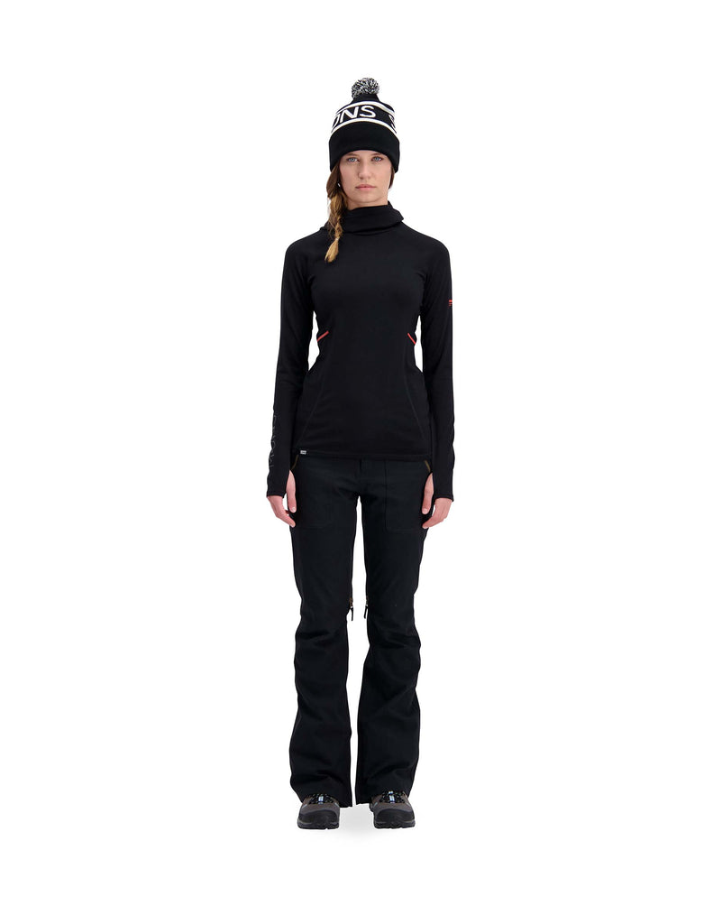 Mons Royale Womens Olympus 3.0 Hooded Base Layer