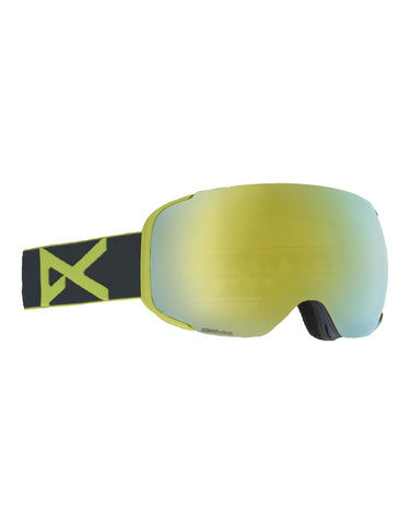 Image of Anon M2 Ski Goggles-Gray / Sonar Bronze Lens + Sonar Infrared Spare Lens-aussieskier.com