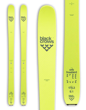 Black Crows Orb Freebird Alpine Touring Skis 2019-aussieskier.com