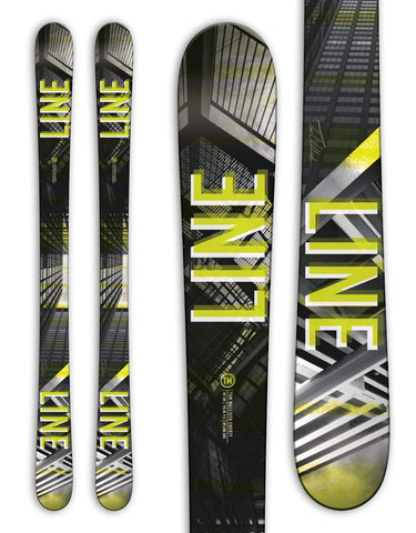 Line Wallisch Shorty Junior Skis 2019-137cm-aussieskier.com
