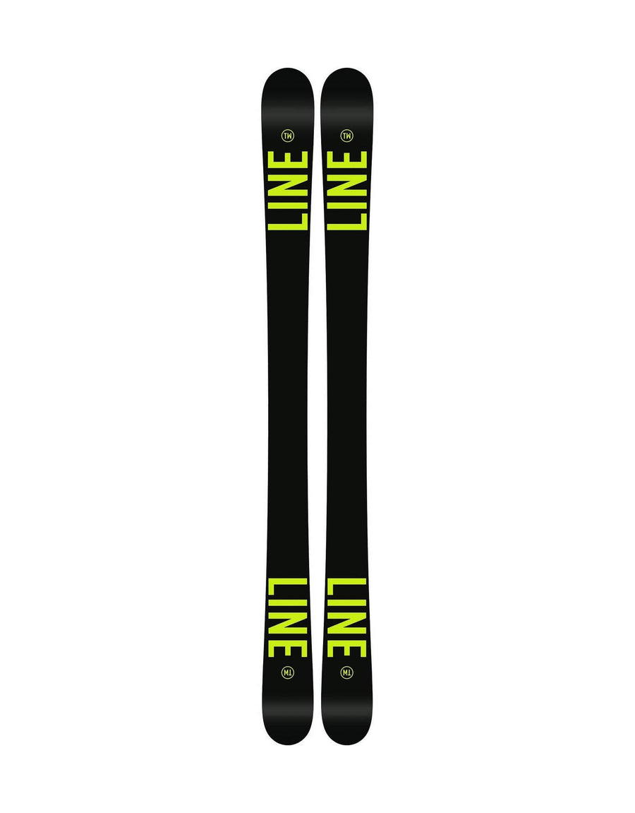 2018 Line Wallisch Shorty Junior Skis-137cm-aussieskier.com