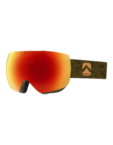 Anon MiG MFI Ski Goggles w/ Integrated Facemask-aussieskier.com
