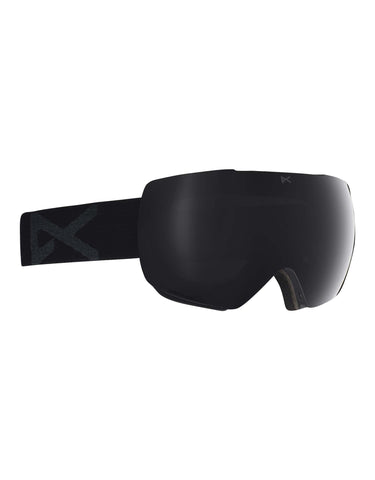 Anon MiG MFI Ski Goggles w/ Integrated Facemask-Smoke / Sonar Smoke Lens-aussieskier.com