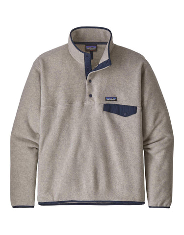 Image of Patagonia Mens Lightweight Synchilla Snap-T Pullover Fleece