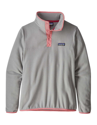 Image of Patagonia Womens Micro D Snap-T Pullover Fleece-Small-Drifter Grey-aussieskier.com