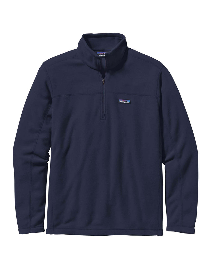 Patagonia Micro D Pullover Zip Fleece-Small-Classic Navy-aussieskier.com