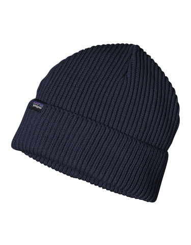 Image of Patagonia Fishermans Rolled Beanie-Navy Blue-aussieskier.com