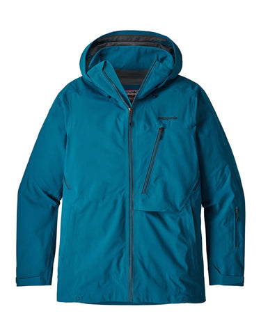 Image of Patagonia Mens Untracked Ski Jacket-Small-Balkan Blue-aussieskier.com