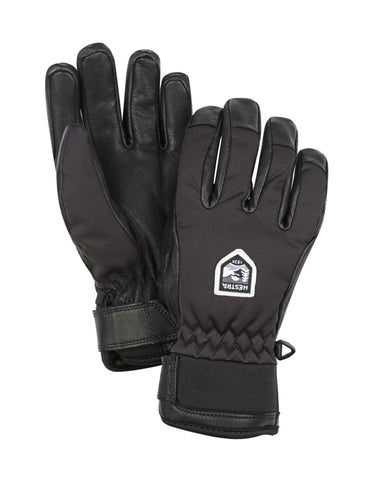 Image of Hestra Moje CZone Womens Ski Gloves-6-Black-aussieskier.com