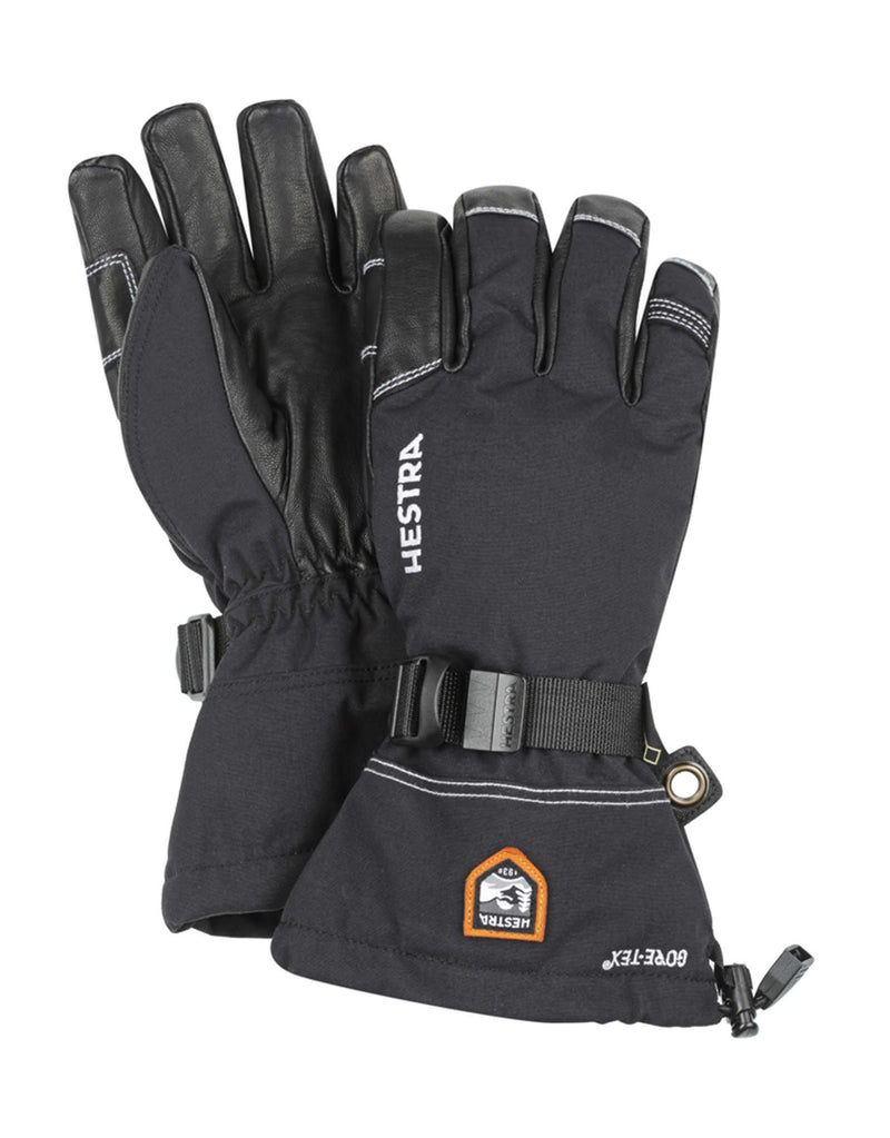 Hestra Army Leather GTX XCR Gloves-7-Black / Black-aussieskier.com