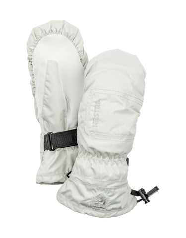 Image of Hestra Czone Powder Womens Mitten-6-White-aussieskier.com