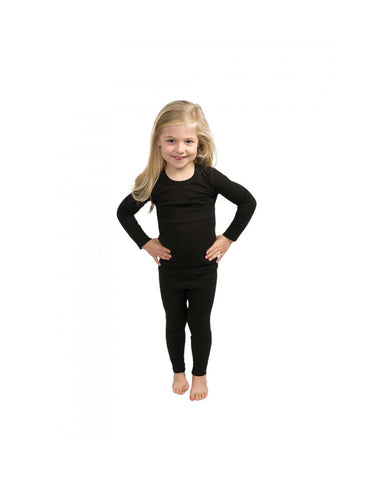 360 Degrees Kids Thermal Top-X Small-Black-aussieskier.com
