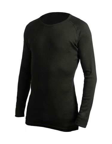 Image of 360 Degrees Thermal Top-X Small-Black-aussieskier.com