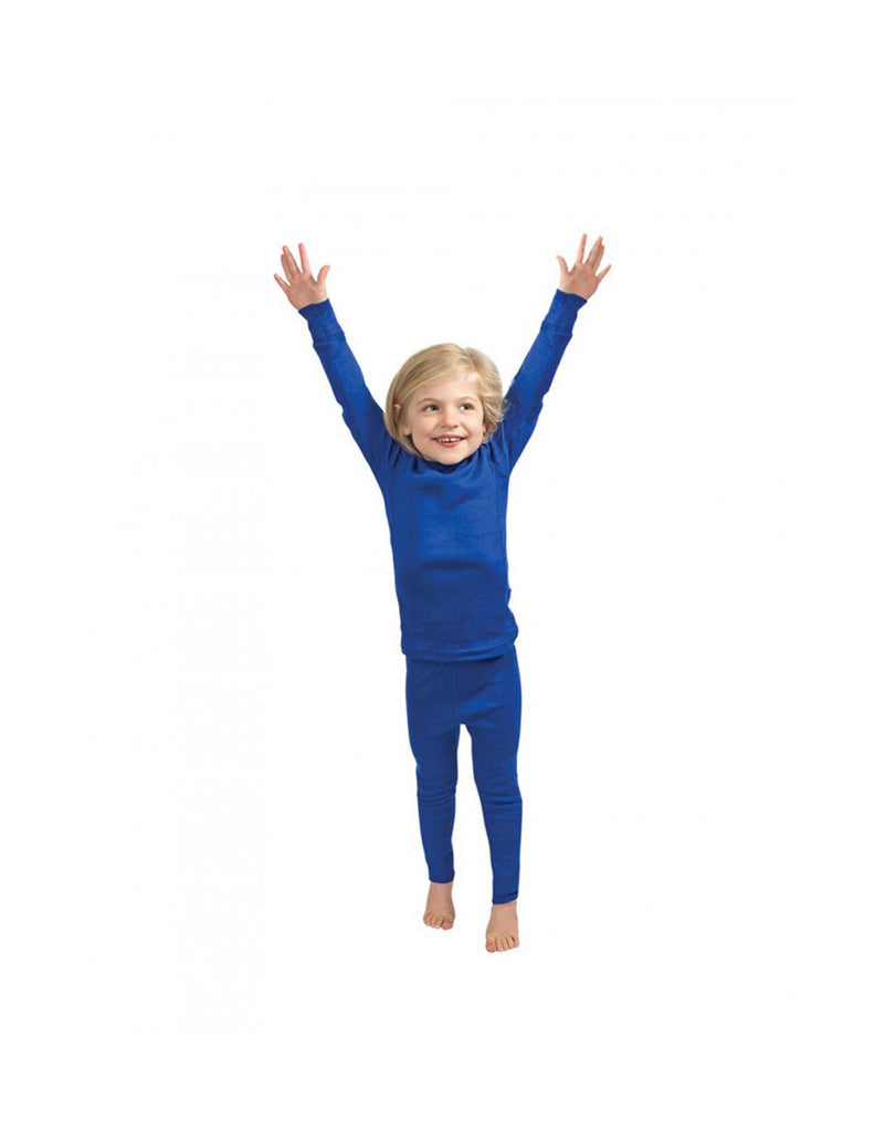 360 Degrees Kids Thermal Pants-X Small-Royal-aussieskier.com