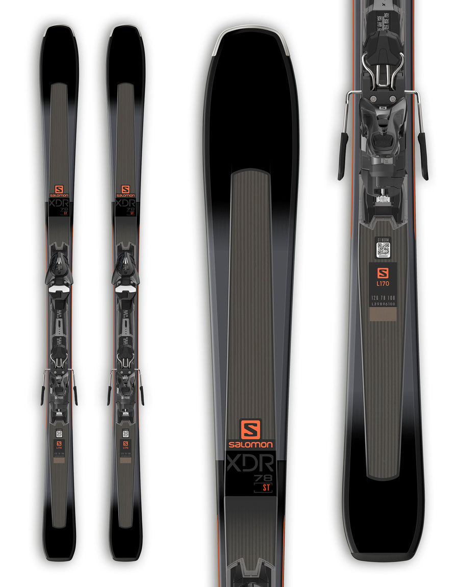 Salomon XDR 78 ST Skis + Mercury 11 Bindings 2019