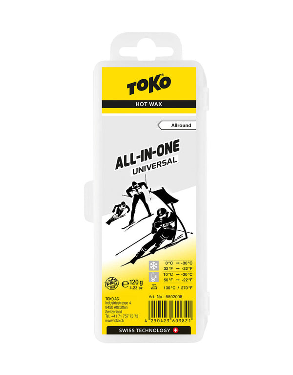 Toko All In One Universal Ski Wax - 120g