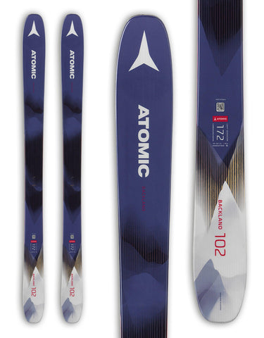 Atomic Backland FR 102 Womens Skis 2020-156cm-aussieskier.com