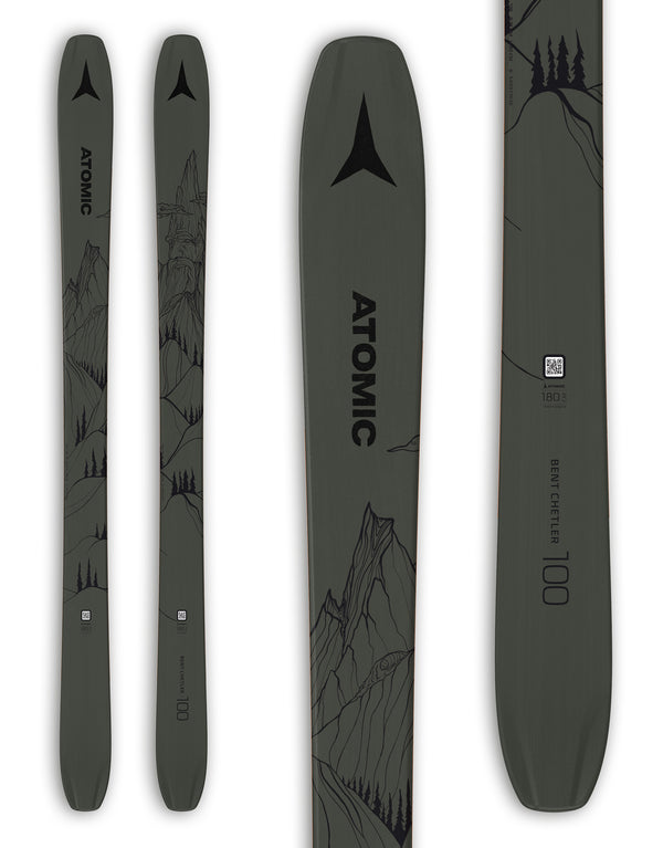 Atomic Bent Chetler 100 Skis 2021