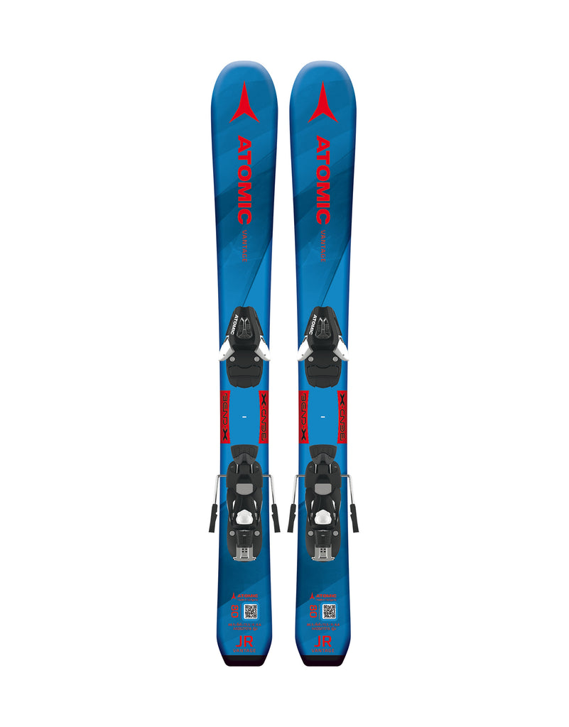 Atomic Vantage Jr X Kids Skis + C5 Bindings 2020-aussieskier.com