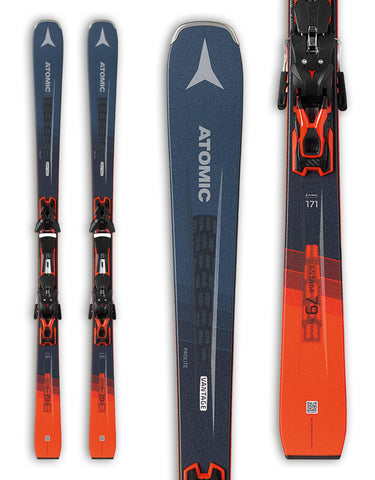 Atomic Vantage 79 TI Skis + FT 12 GW Bindings 2020-171cm-aussieskier.com