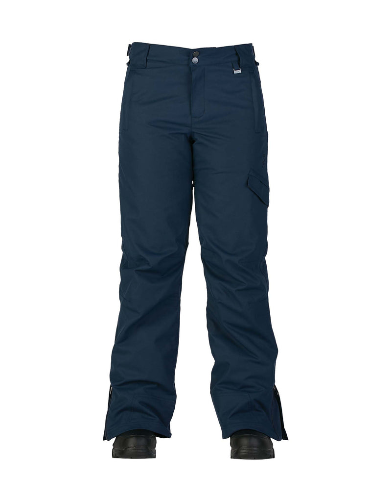 Rojo Adventure Awaits Womens Ski Pants-6-Black Iris-aussieskier.com