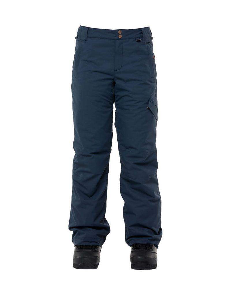 Rojo Adventure Awaits Womens Ski Pants-8-Blue Nights-aussieskier.com