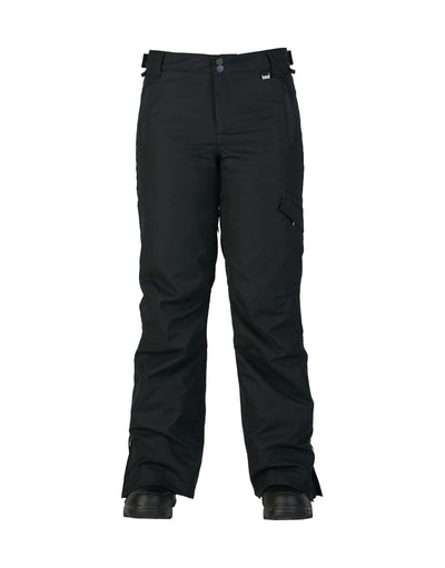 Rojo Adventure Awaits Womens Ski Pants-6-True Black-aussieskier.com