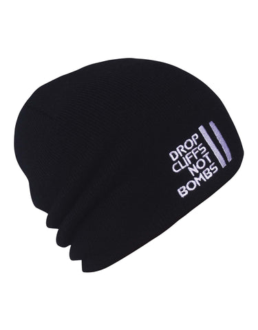 Planks Drop Cliffs Original Beanie-Black-aussieskier.com