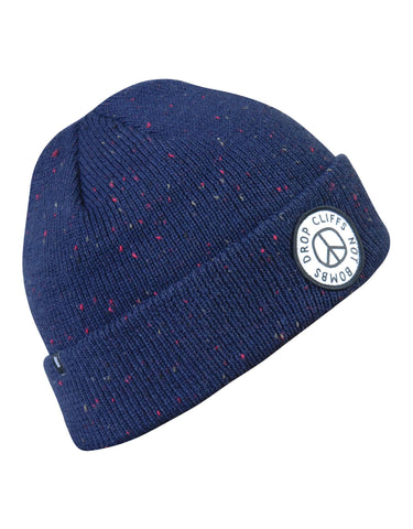 Image of Planks Peace Beanie-Dark Navy-aussieskier.com