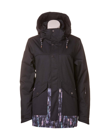 Image of Rojo Aster Womens Ski Jacket-8-Midnight Wings-aussieskier.com