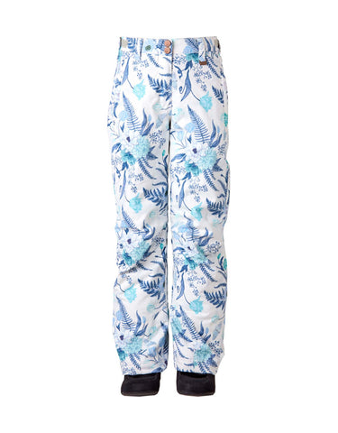 Image of Rojo BF4EVA Girls Ski Pants-4-Ice Floral-aussieskier.com