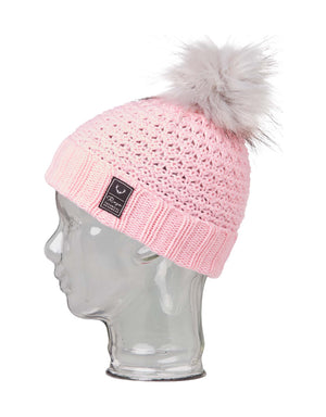Rojo Bobble Girls Beanie