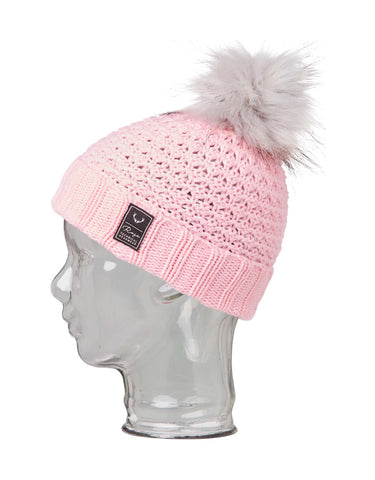 Rojo Bobble Girls Beanie-Smokey Grape-aussieskier.com