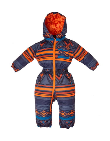 Image of Elude Boys Onesie Mini-00-Mountain Aztec Monument-aussieskier.com