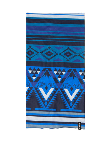 Elude Tube Kids Neckwarmer-Mountain Aztec Solidate Blue-aussieskier.com