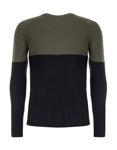 Image of Le Bent Vert 200 Raglan Base Layer-aussieskier.com