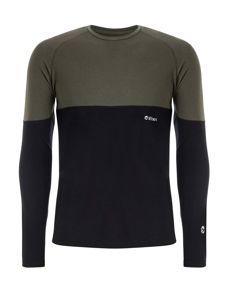 Le Bent Vert 200 Raglan Base Layer-Medium-Forest Green-aussieskier.com