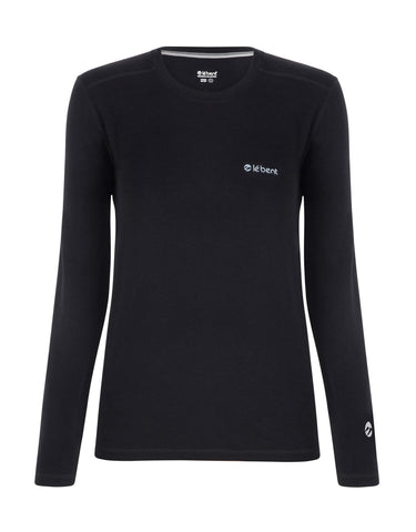 Image of Le Bent Le Base 200 Crew Womens Base Layer-Small-aussieskier.com