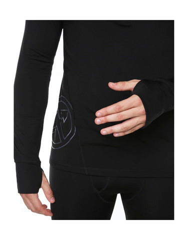 Vigilante Cellular 1/4 Zip Thermal Top-aussieskier.com