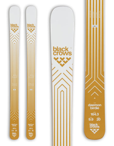 Black Crows Daemon Birdie Womens Skis 2020-170cm-aussieskier.com
