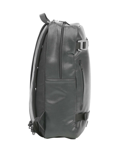 Douchebags Scholar Leather Backpack-Black Leather-aussieskier.com