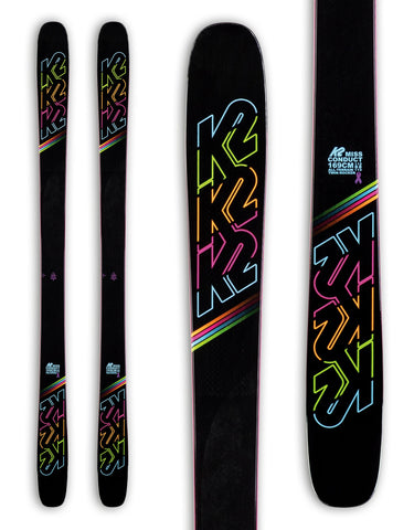 K2 MissConduct Womens Skis 2020-149cm-aussieskier.com